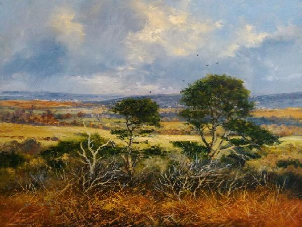 Richard Blowey Artist Of Countryside Landscape And